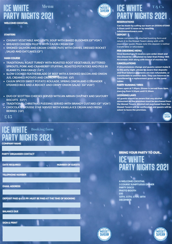 Ice White Party Nights